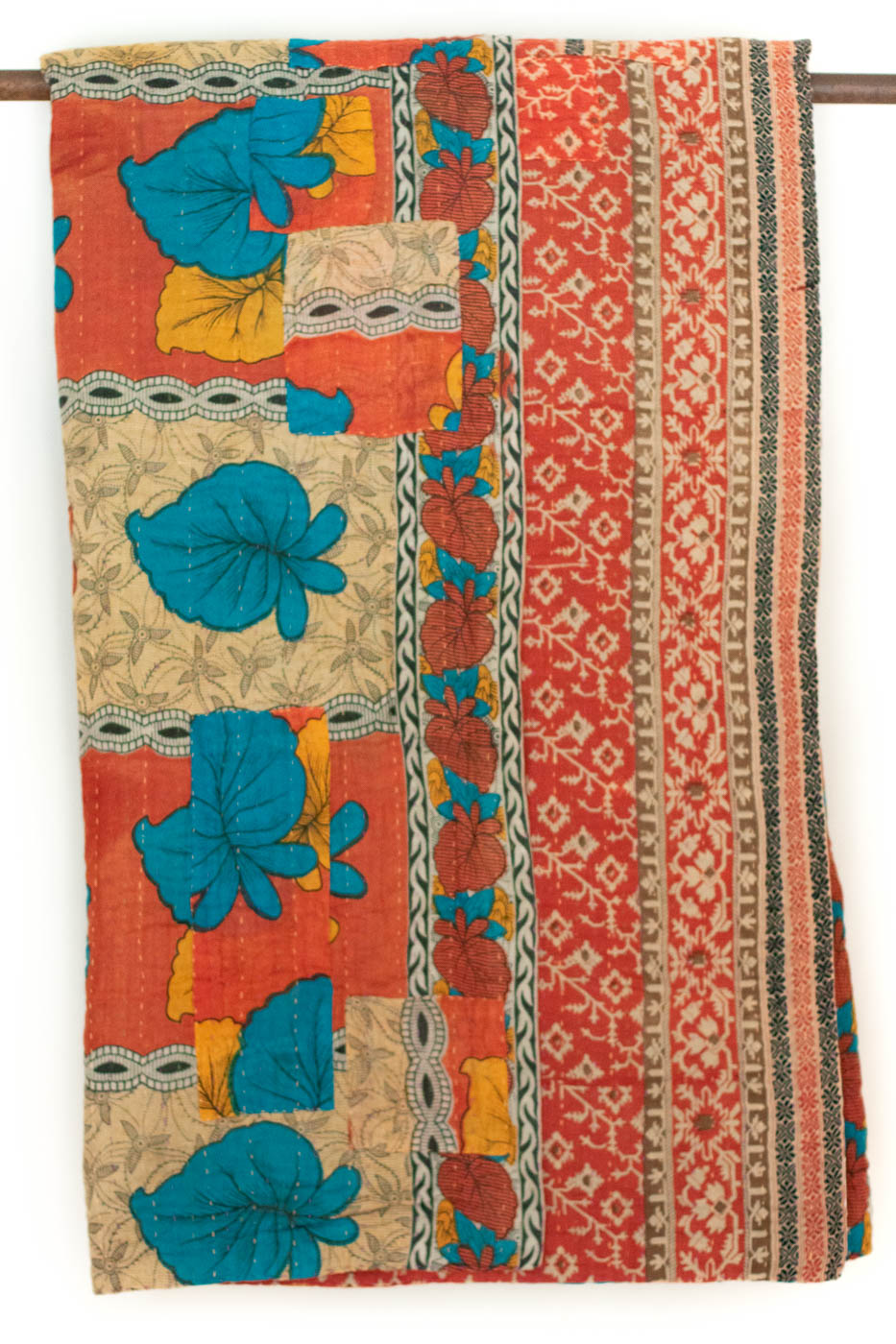Hope No. 6 Kantha Large Throw
