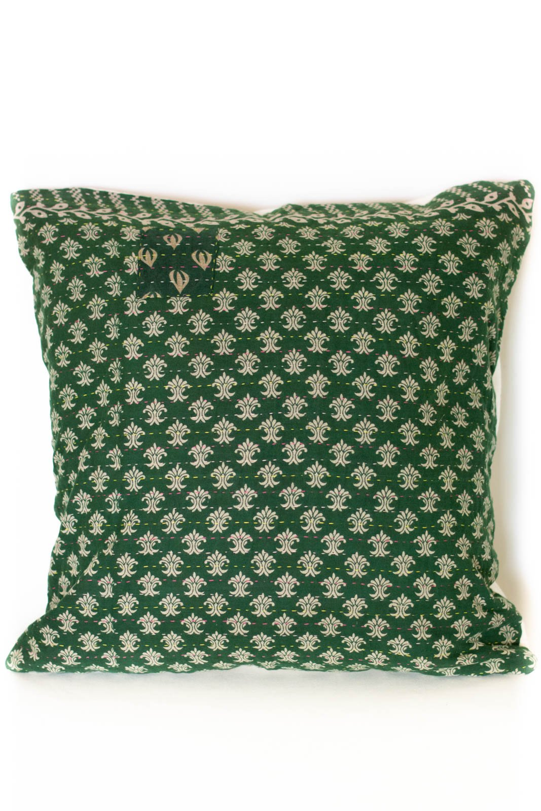 Beauty no. 2 Kantha Pillow Cover