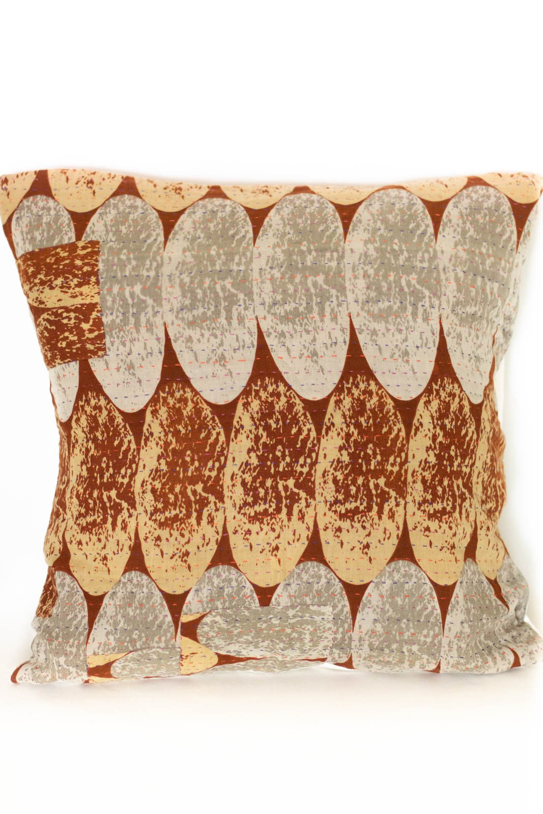Marvelous no. 7 Kantha Pillow Cover