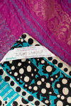 Name Silk Blend Kantha Throw