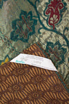 Luxe Silk Blend Kantha Throw