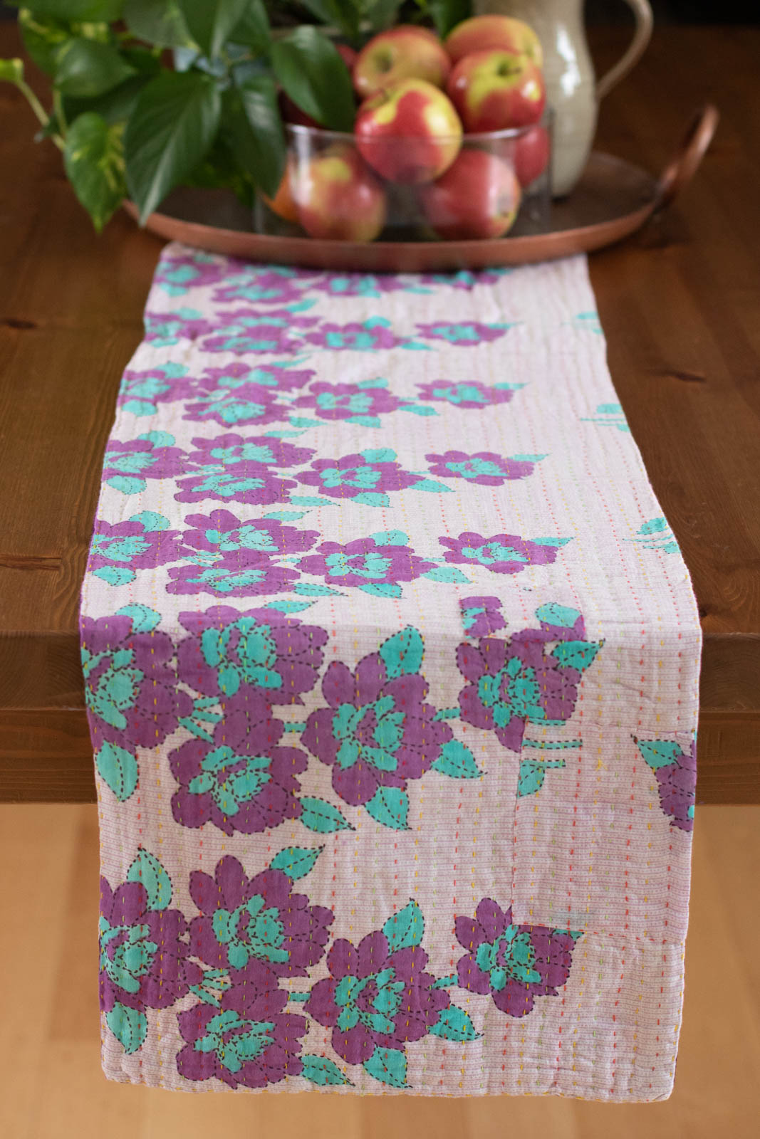 Kantha Table Runner Cotton C7