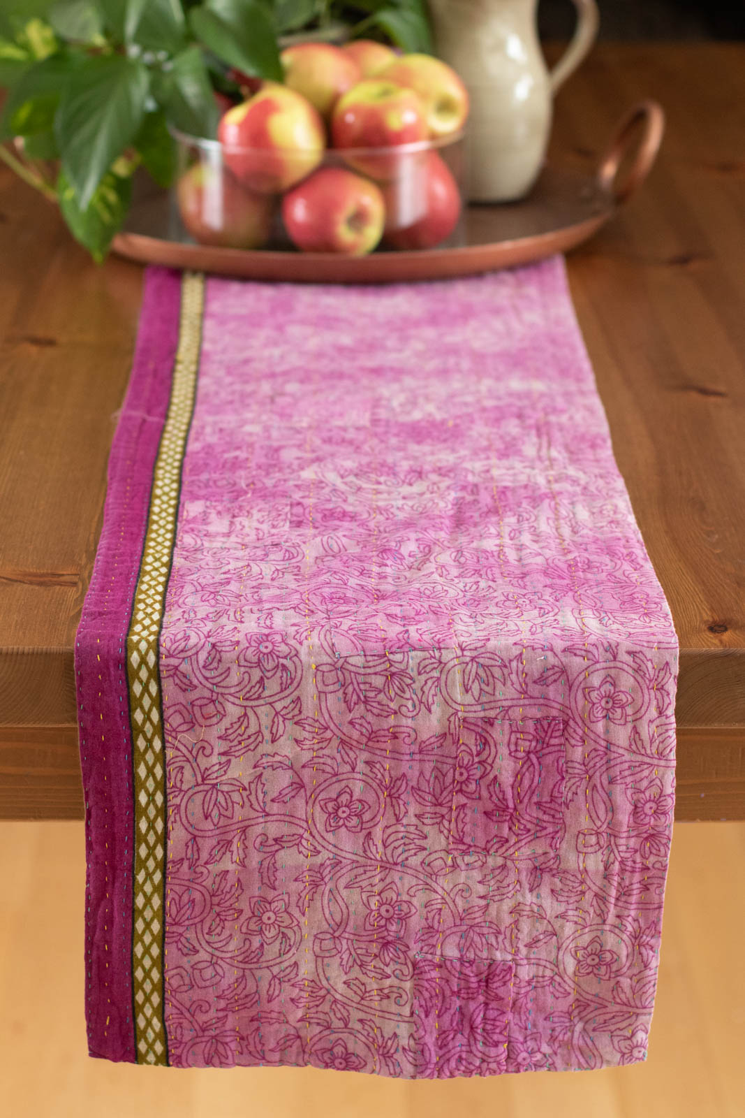 Kantha Table Runner Cotton B7