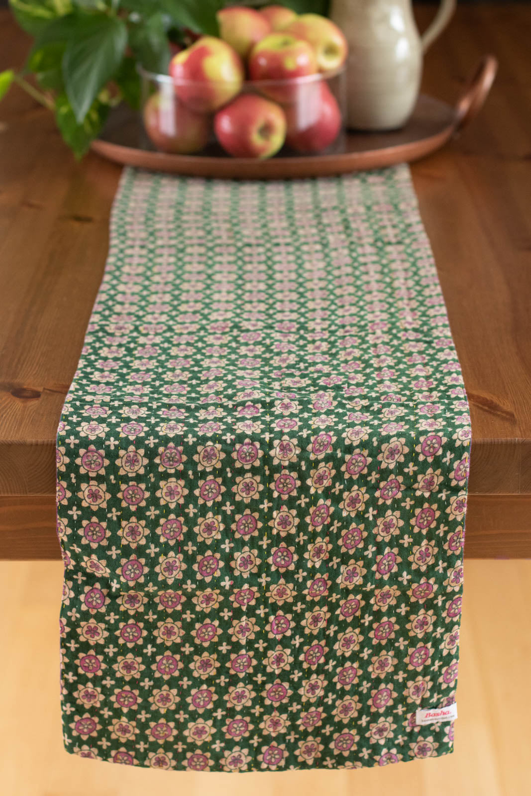 Kantha Table Runner Cotton D1