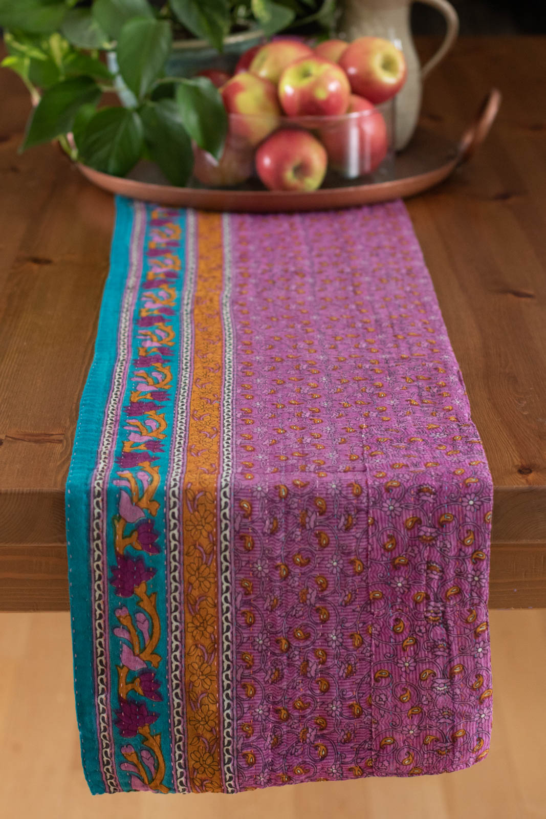 Kantha Table Runner Cotton C6