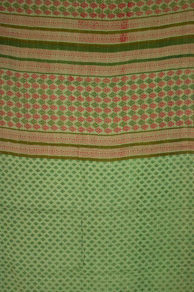 Home Holiday Kantha Throw