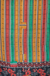 Candle Holiday Kantha Throw