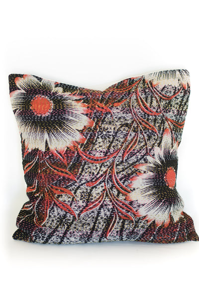 Kantha Pillow Throw Pillow