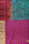 Kantha Table Runner Silk Blend B1