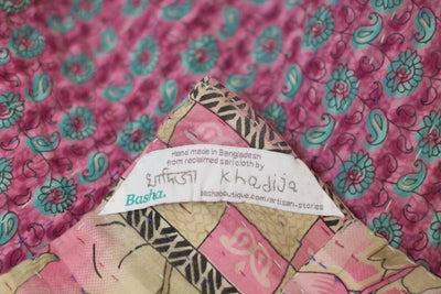 Wee no. 6 Kantha Mini Blanket