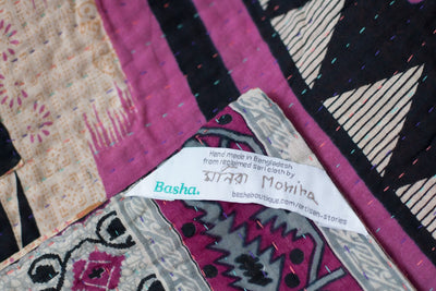 Sweet no. 9 Kantha Mini Blanket