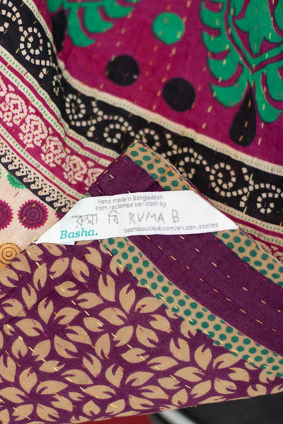 Darling no. 12 Kantha Mini Blanket