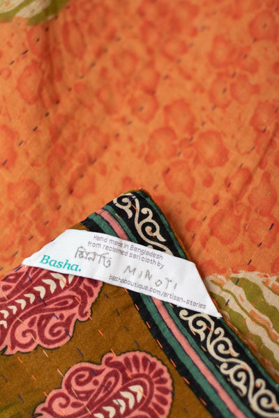 Delight no. 3 Kantha Mini Blanket