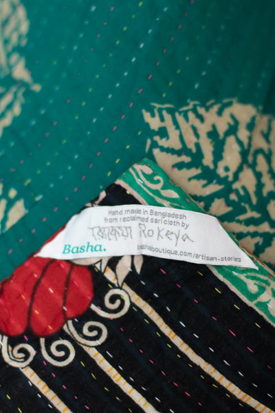 Delight no. 8 Kantha Mini Blanket