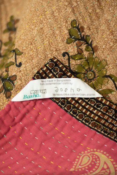 Gentle no. 3 Kantha Mini Blanket