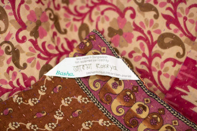 Sweet no. 3 Kantha Mini Blanket