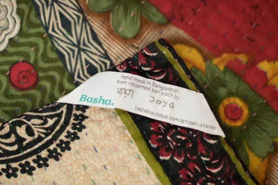Adored no. 7 Kantha Mini Blanket