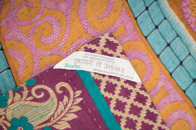 Treasure no. 4 Kantha Mini Blanket