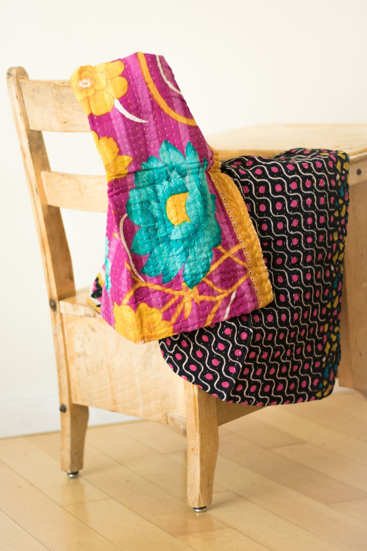 Kantha Quilts Throw Blankets Bedspreads Amp Baby Blankets