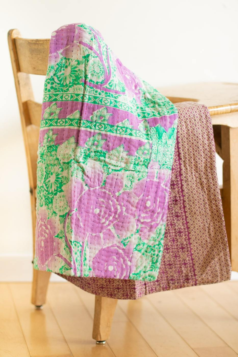 dignify Kantha Baby Blanket Quilt