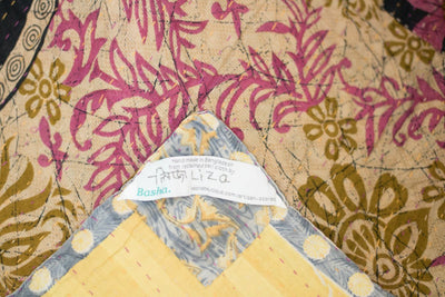 Cherish no. 5 Kantha Mini Blanket
