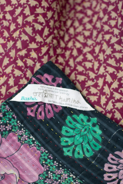 Tiny no. 1 Kantha Mini Blanket