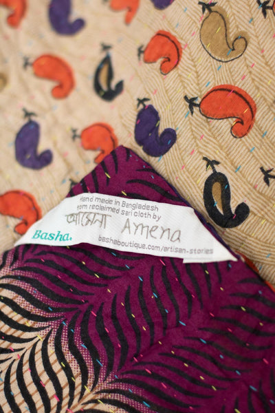 Cherish no. 7 Kantha Mini Blanket