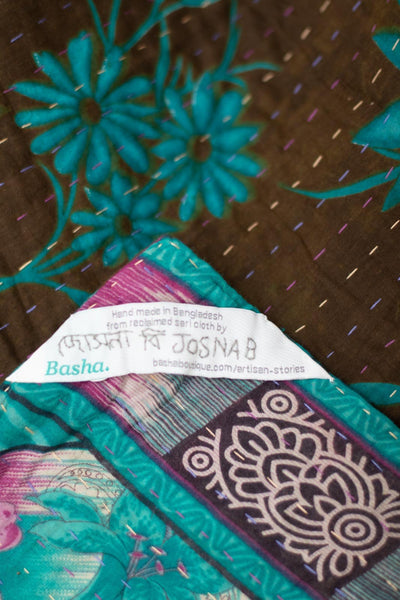 Dear no. 7 Kantha Mini Blanket