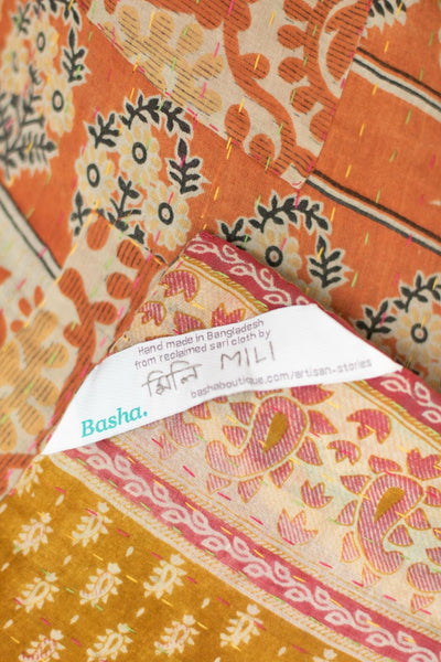 Adored no. 6 Kantha Mini Blanket