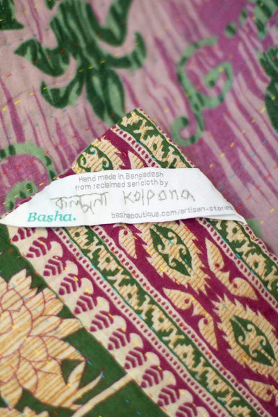 Precious no. 3 Kantha Mini Blanket
