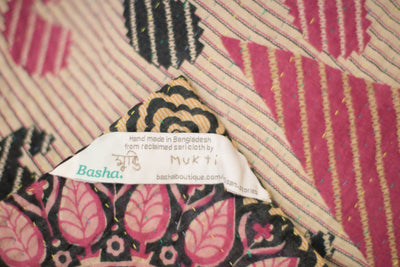 Beloved no. 3 Kantha Mini Blanket