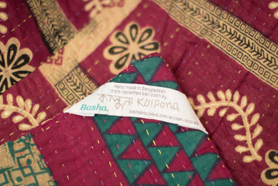 Beloved no. 6 Kantha Mini Blanket