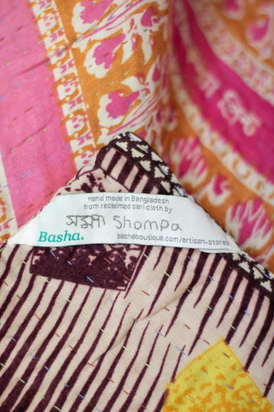 Loved no. 6 Kantha Mini Blanket