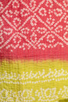 Bright Silk Kantha Throw