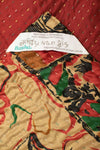 Glamour Silk Blend Kantha Throw