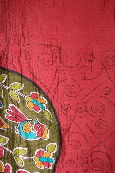 Sublime Silk Blend Kantha Throw