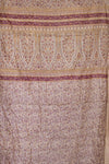 Plum Silk Blend Kantha Throw