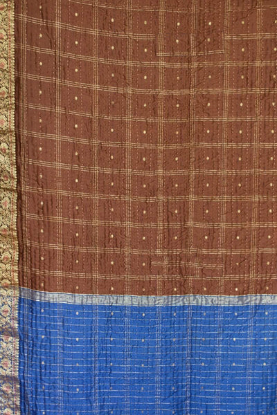 Rove Silk Blend Kantha Throw