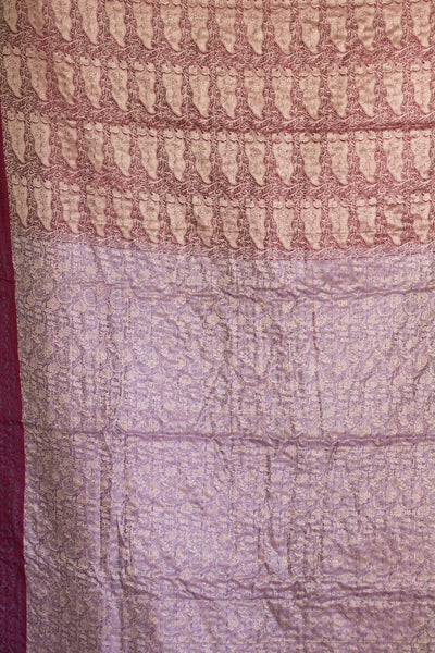 Poetry Silk Blend Kantha Throw