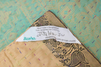 Masterpiece Silk Blend Kantha Throw