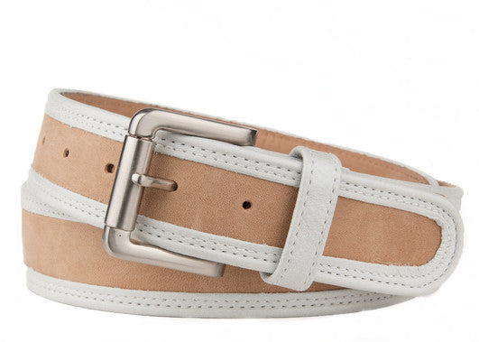 Keggy Guy Belt (Beige/White)