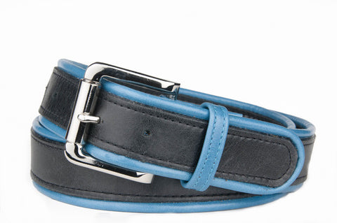 Keggy Guy Corded Belt (Black/Teal)