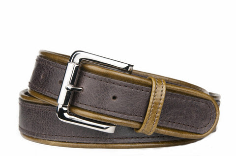Keggy Guy Corded Belt (Espresso/Olive)
