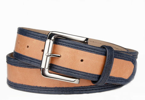 Keggy Guy Belt (Orange/Navy)