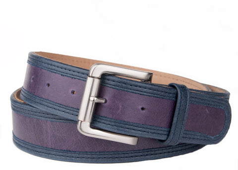 Keggy Guy Belt (Purple/Navy)