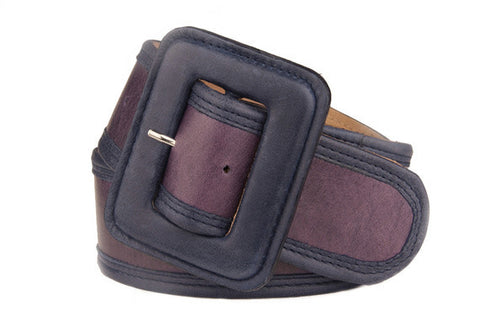 Keggy Girl Belt (Purple/Navy)