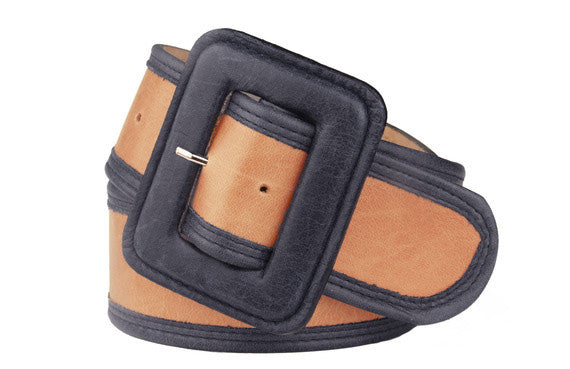 Keggy Girl Belt (Orange/Navy)