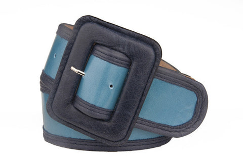 Keggy Girl Belt (Teal/Navy)