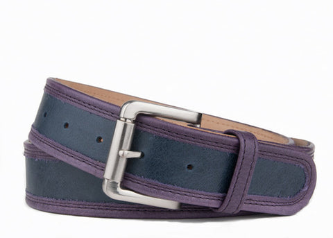 Keggy Guy Belt (Navy/Purple)