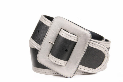 Keggy Girl Belt (Black/White)